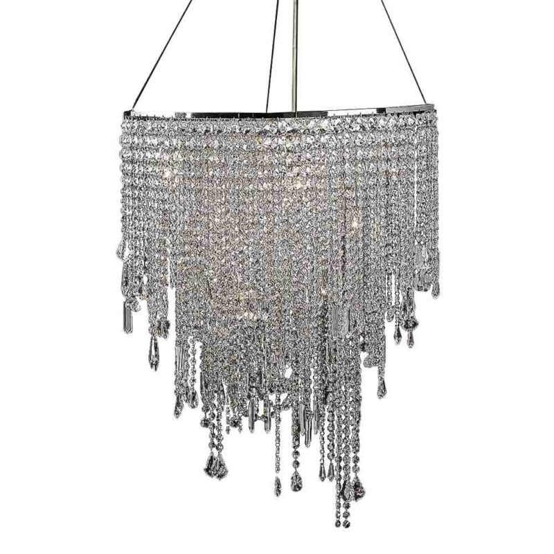 hanging crystal chandelier