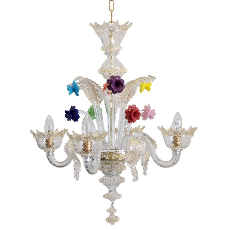 small murano glass chandelier